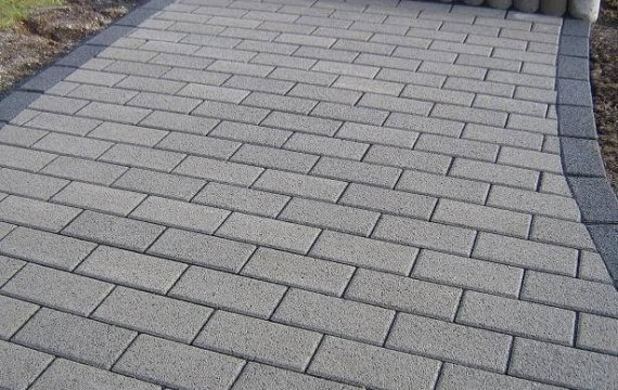 тротуарная плитка Брусчатка 7П.4 100х200х40 купить в спб