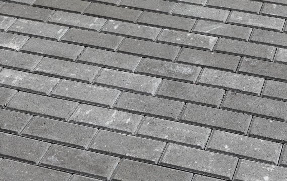 тротуарная плитка Брусчатка 7П.6 100х200х60 купить в спб