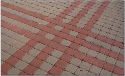 тротуарная плитка Классика 1К.8 115х115х80 купить в спб
