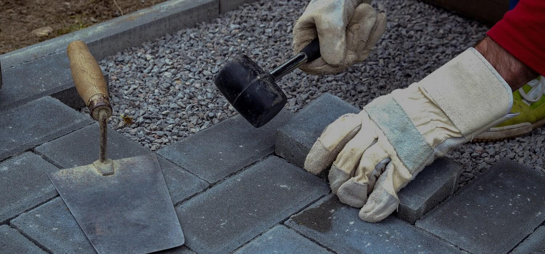 укладка тротуарной плитки под ключ