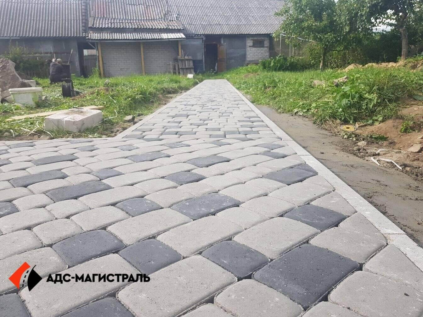 мощение пешеходными дорожками п. Новоселье фото 10