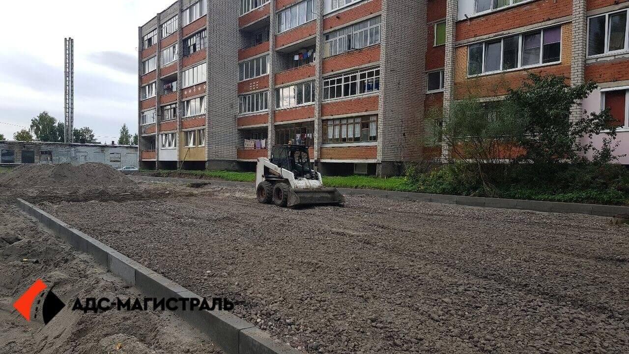 укладка тротуарной плитки Петергоф фото 2