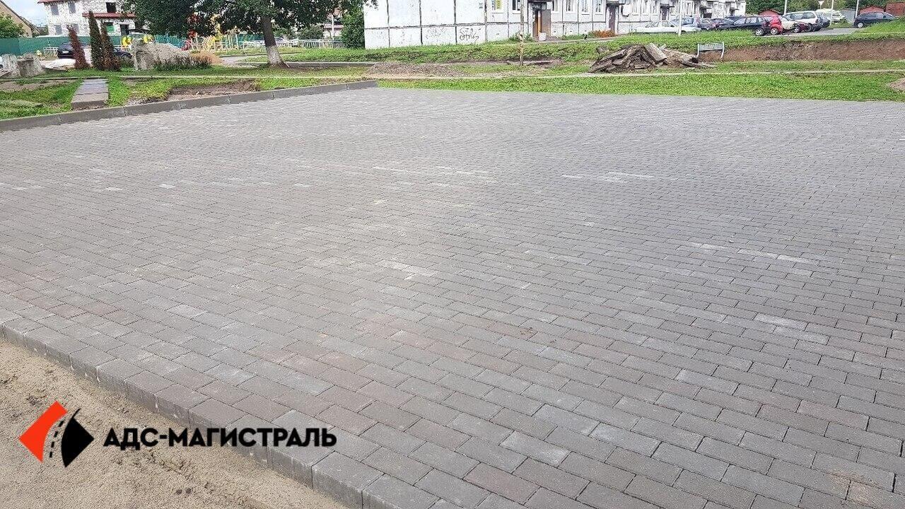 укладка тротуарной плитки Петергоф фото 4