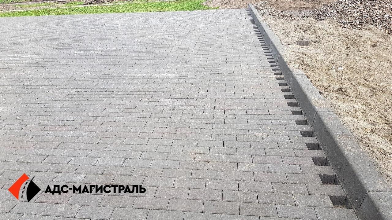 укладка тротуарной плитки Петергоф фото 5