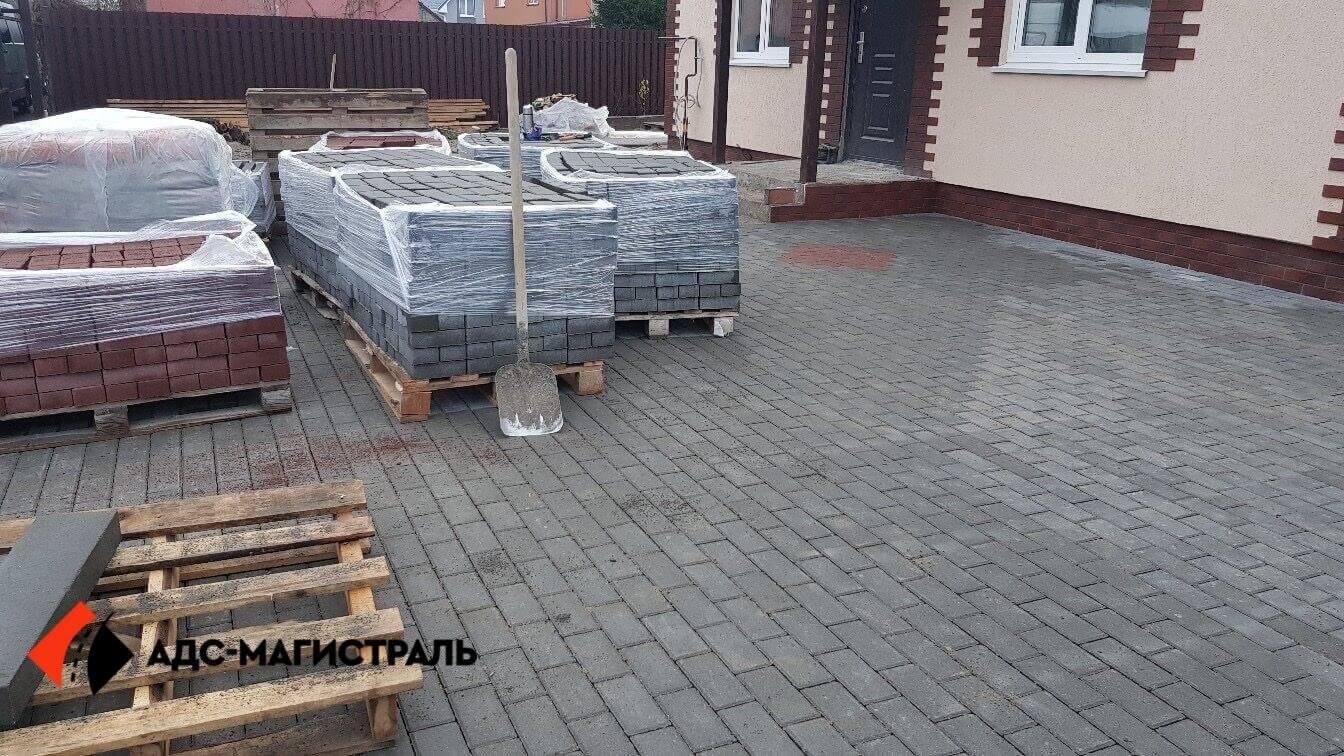 укладка тротуарной плитки Посёлок Тельмана фото 11