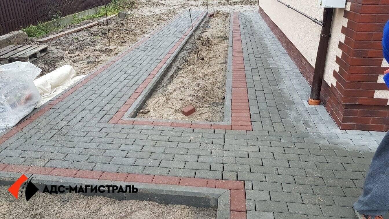 укладка тротуарной плитки Посёлок Тельмана фото 12
