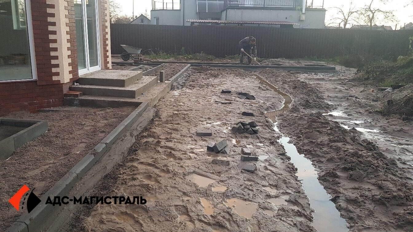 укладка тротуарной плитки Посёлок Тельмана фото 5