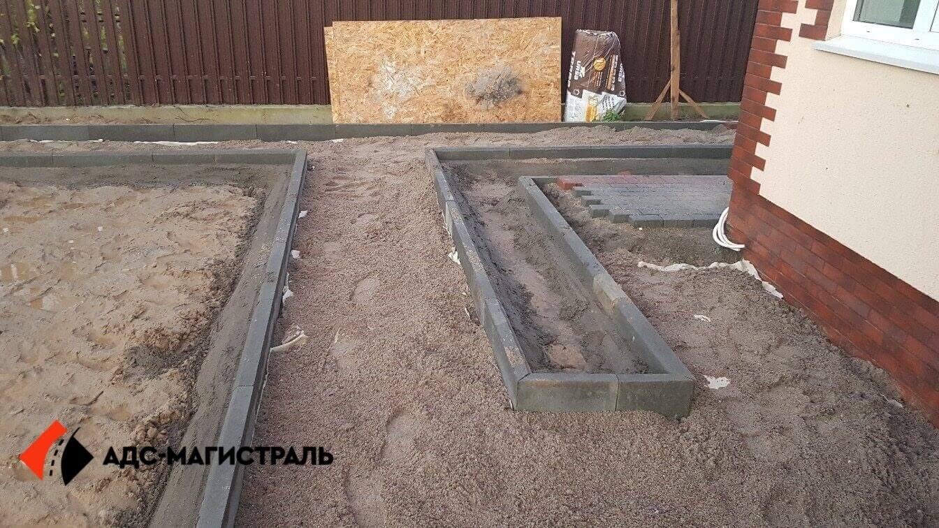 укладка тротуарной плитки Посёлок Тельмана фото 9
