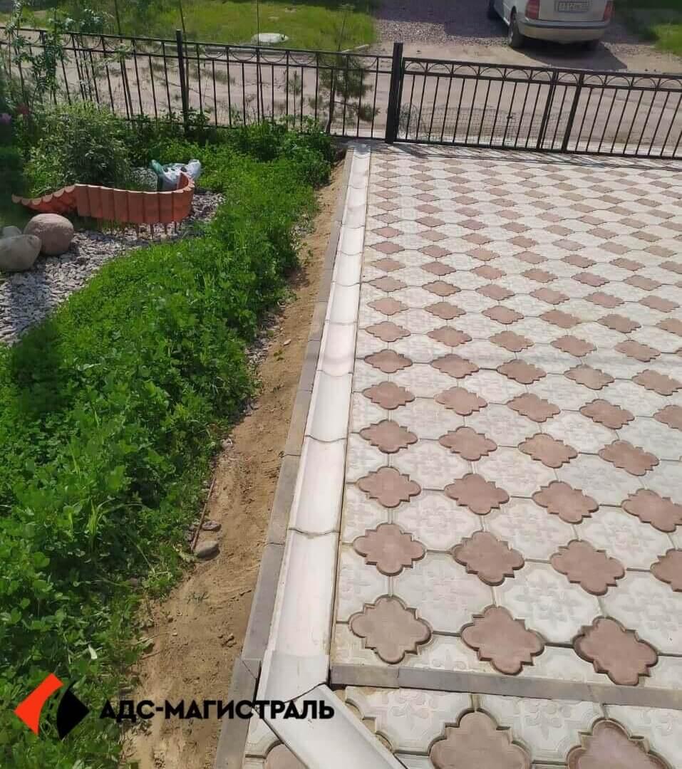 укладка тротуарной плитки п. Поселённое фото (3)