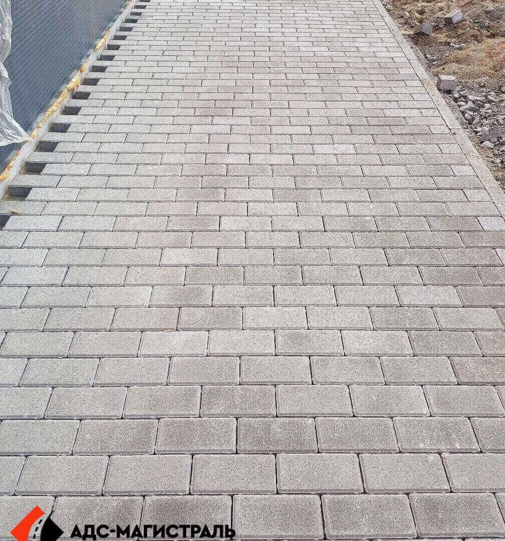 укладка тротуарной плитки Леруа Мерлен фото 8