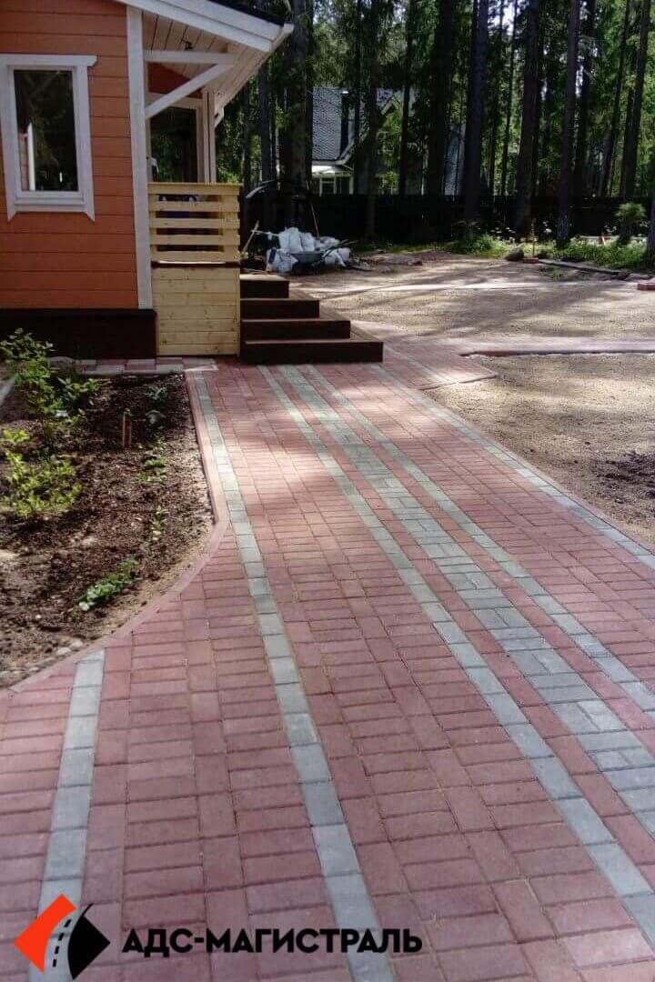 мощение тротуарной плиткой посёлок Цвелодубово фото 1