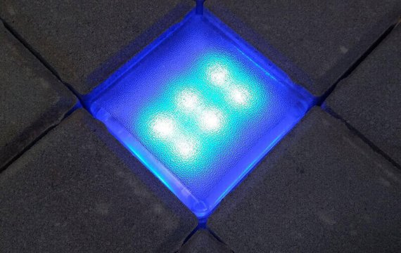 светодиодная плитка 100х100х40 фото