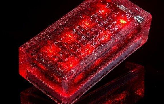 светодиодная плитка 100х200х60 фото