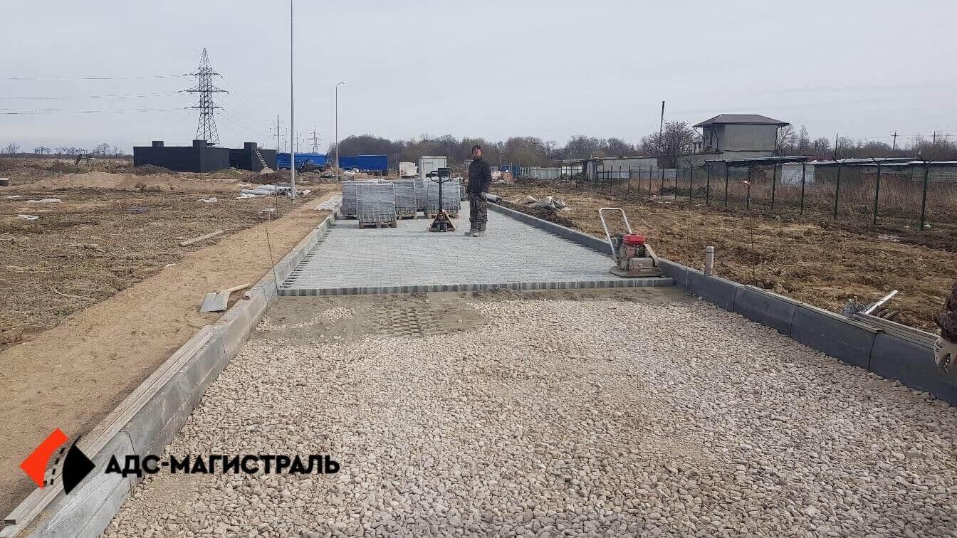 Укладка тротуарной плитки Металлострой фото 6