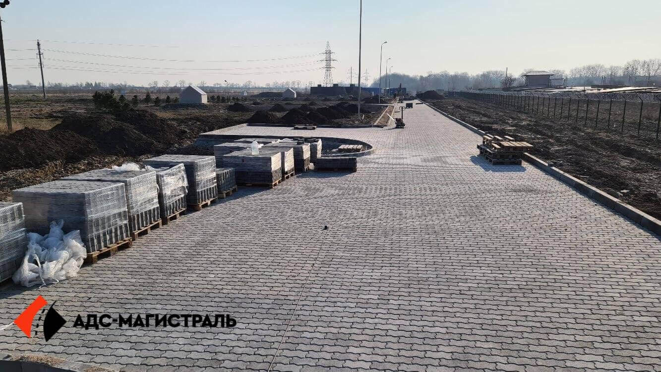 Укладка тротуарной плитки Металлострой фото 7
