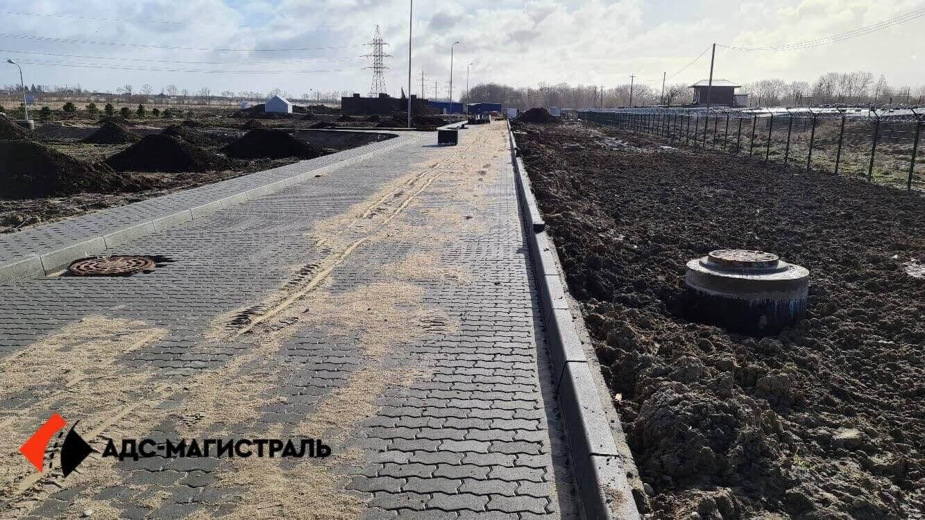 Укладка тротуарной плитки Металлострой фото 8