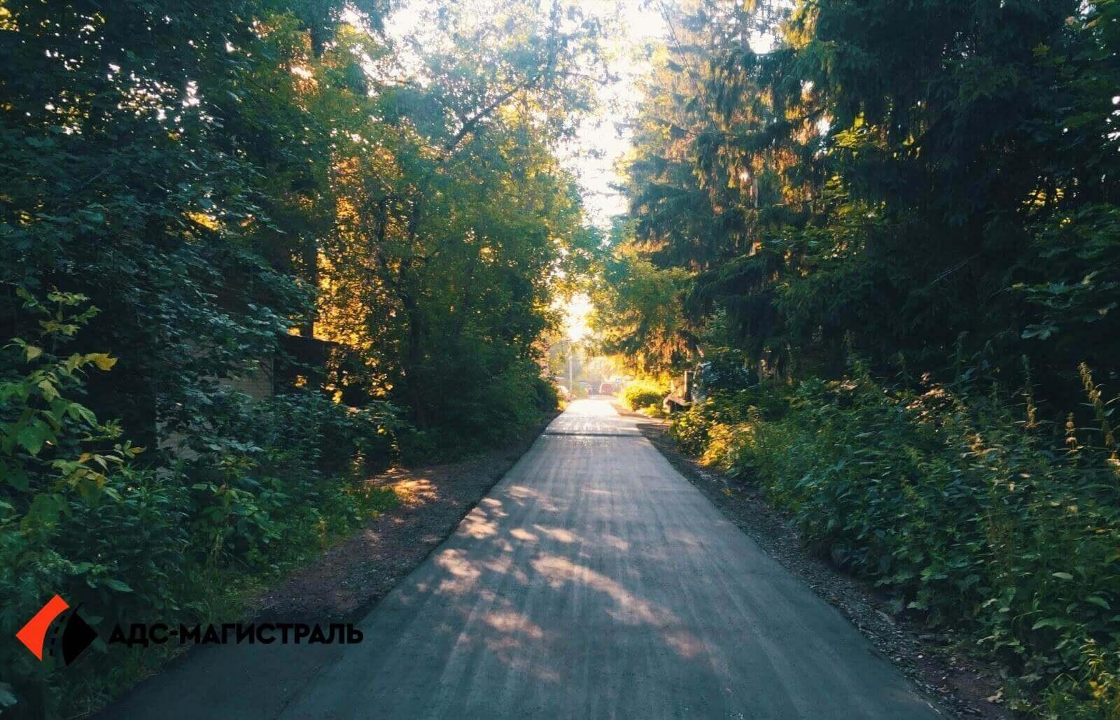Асфальтирование дороги Волковицы фото 7