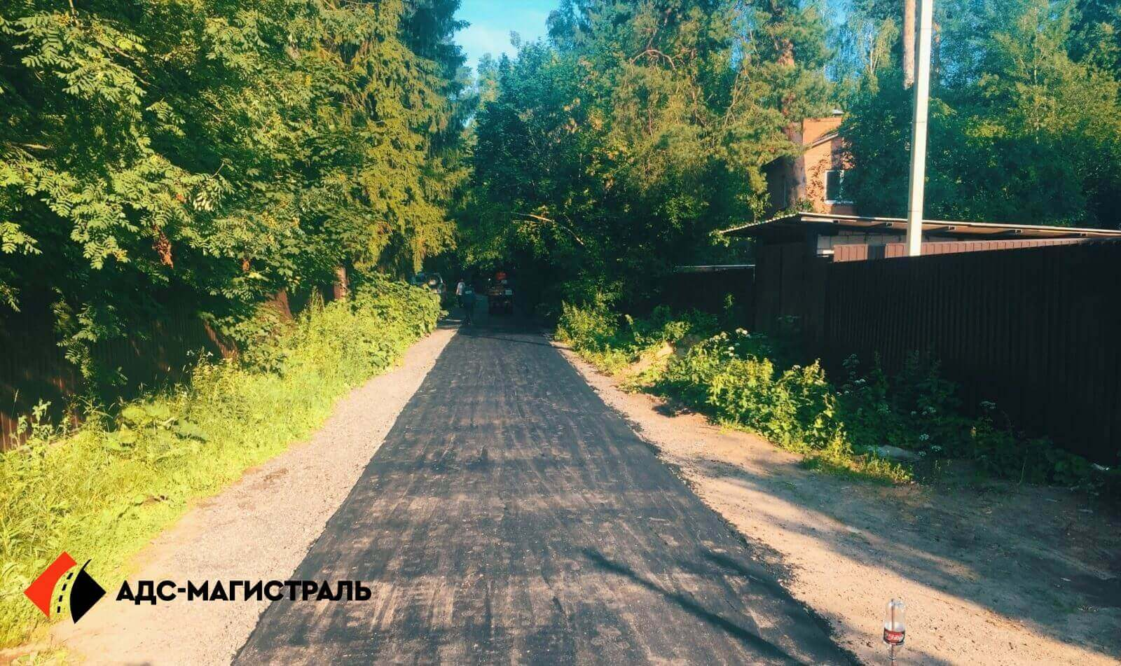 Асфальтирование дороги Волковицы фото 6