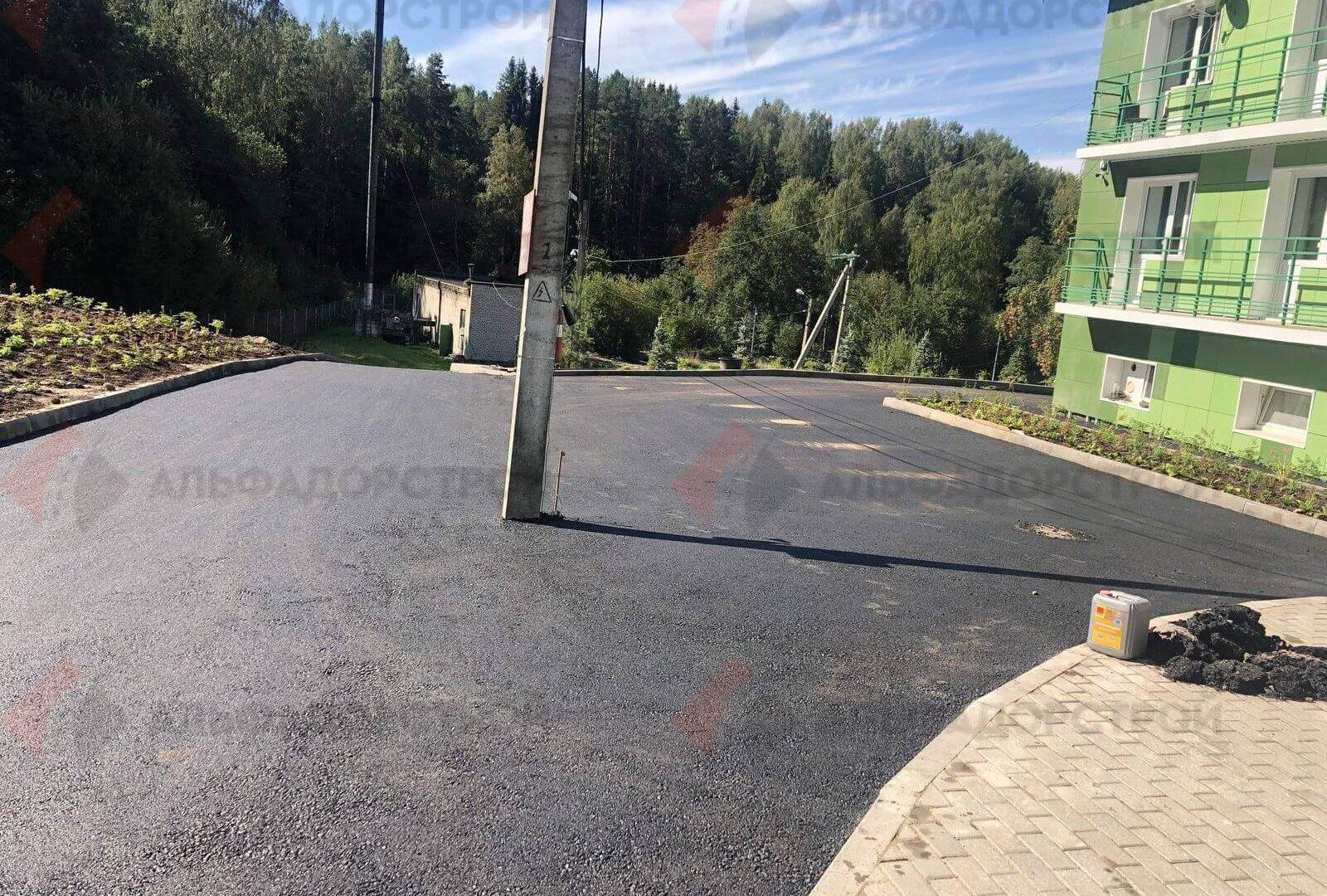 асфальтирование дорог шугозеро фото 8