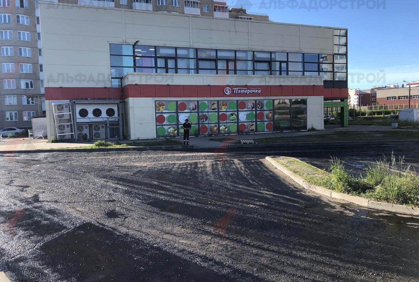 асфальтирование парковки красное село фото 3