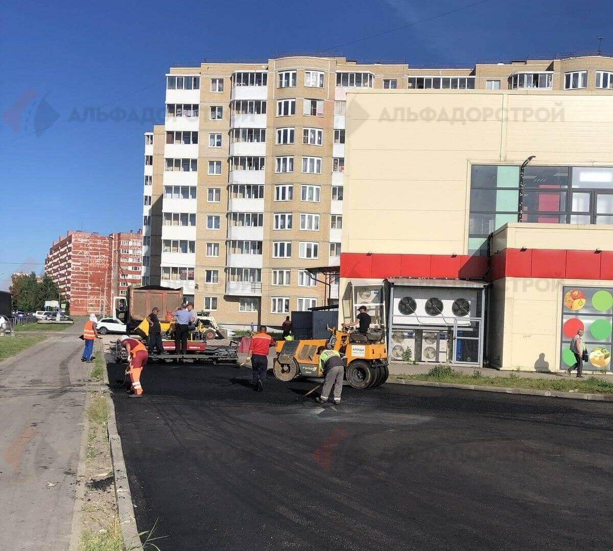 асфальтирование парковки красное село фото 7