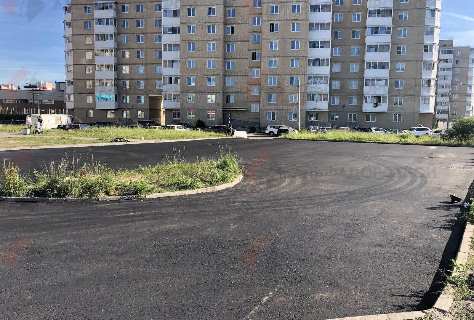 асфальтирование парковки красное село фото 9