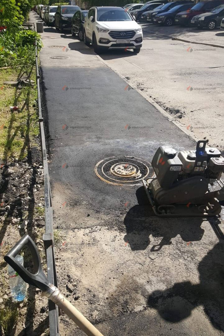 асфальтирование придомовой территории савушкина фото 29