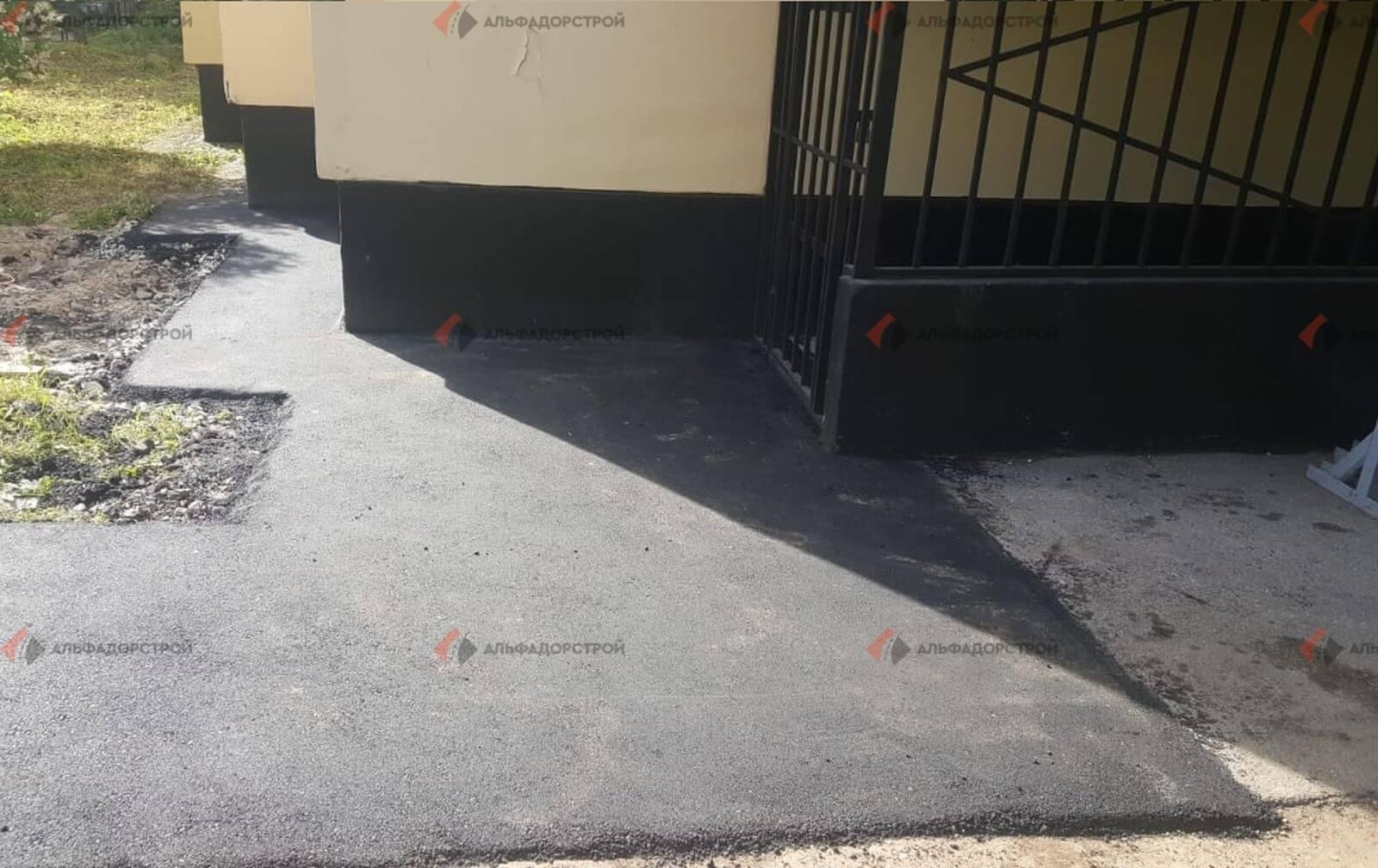 асфальтирование придомовой территории савушкина фото 32